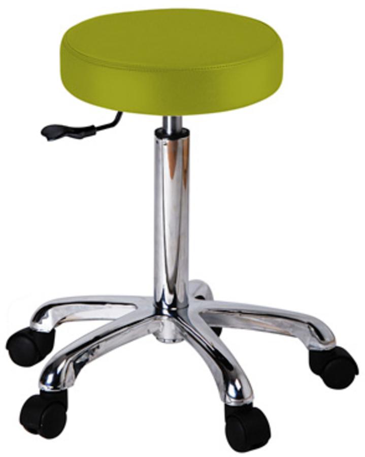 Sgabello rotondo verde acido weelko sedie e sgabelli for Sgabello verde